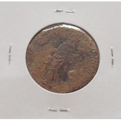 Império Romano - Domiciano - Dupondio - 81 / 96 D. C.