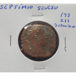 Império Romano - Septímio Severo - Dupondio - 193/211 D. C.