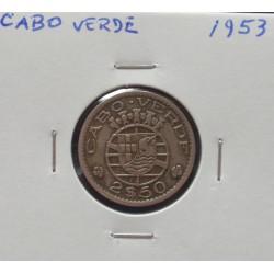 Cabo Verde - 2,50 Escudos - 1953