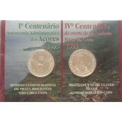 Portugal - 1995 - Cent. Açores / A. Prior Crato - BNC / Prata