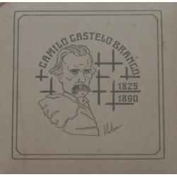 Portugal - 1990 - Camilo C. Branco - Proof / Prata