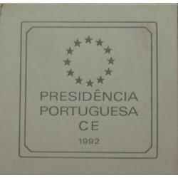 Portugal - 1992 - Presidência C. E. - Proof / Prata