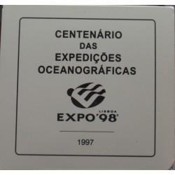 Portugal - 1997 - Cent. Exp. Oceanográficas - Proof / Prata