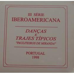 Portugal - 1998 - Danças Pauliteiros - Proof / Prata