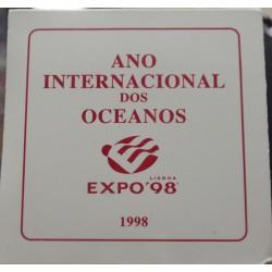 Portugal - 1998 - Ano Inter. Oceanos - Proof / Prata
