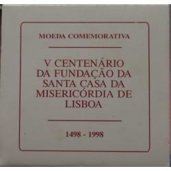 Portugal - 1998 - S. Casa Misericórdia - Proof / Prata