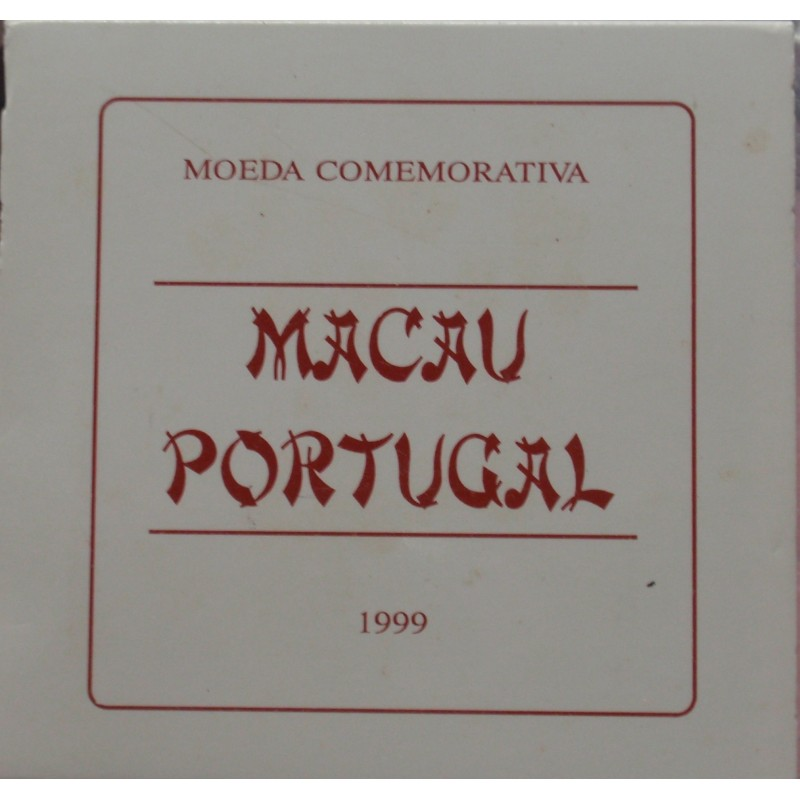 Portugal - 1999 - Macau - Proof / Prata