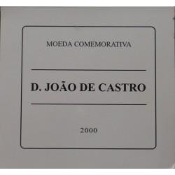 Portugal - 2000 - D. João de Castro - Proof / Prata