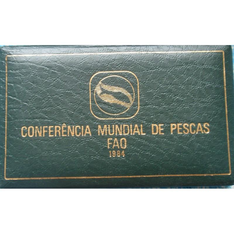 Portugal - 1984 - Conferência Mundial de Pescas - Proof