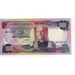 Angola - Nota - 1000 Escudos - 24/11/1972 - Marechal Carmona