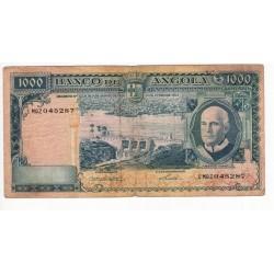 Angola - Nota - 1000 Escudos - 10/6/1962 - Américo Tomás