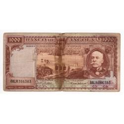 Angola - Nota - 1000 Escudos - 15/8/1956 - Brito Capelo