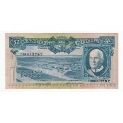 Angola - 50 Escudos - 10/6/1962