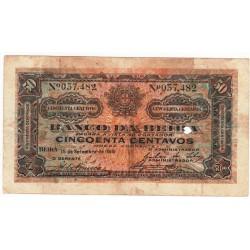Moçambique - Banco da Beira - 50 Centavos - 15/9/1919