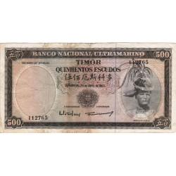 Timor - 500 Escudos - 24/10/1967 - Régulo Aleixo