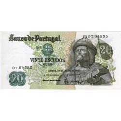 Portugal - 20 Escudos - 27/7/1971 - Garcia da Orta - UNC