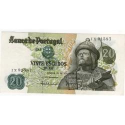 Portugal - 20 Escudos - 27/7/1971 - Garcia da Orta