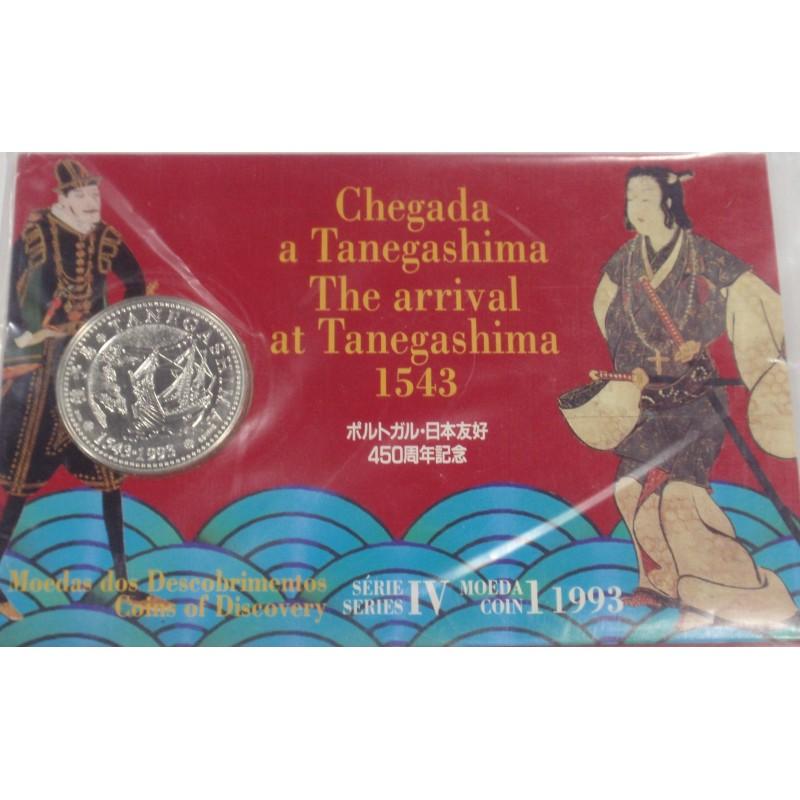 Portugal -IV Série dos Descobr. - Tanegashima - BNC/Prata