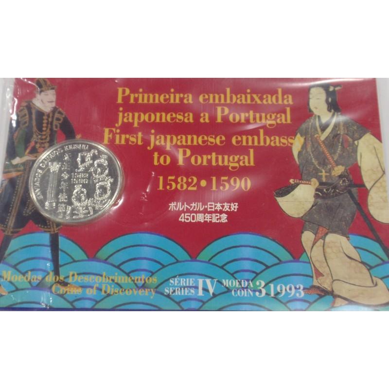 Portugal -IV Série dos Descobr. - D. Kiushu - BNC/Prata