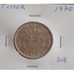 Timor - 5 Escudos - 1970 - Unc