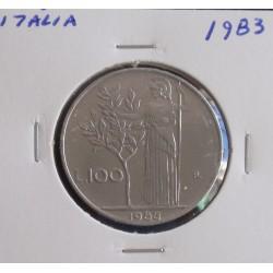 Itália - 100 Lire - 1983