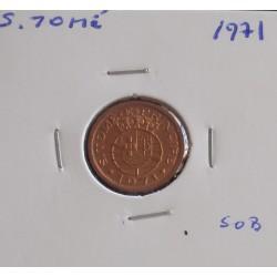 S. Tomé - 20 centavos - 1971 - Unc