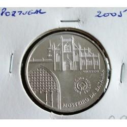 Portugal - 5 Euro - 2005 - Mosteiro Da Batalha - Prata