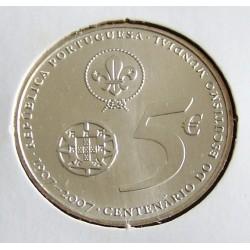 Portugal - 5 Euro - 2007 - Centenário Do Escutismo Mundial