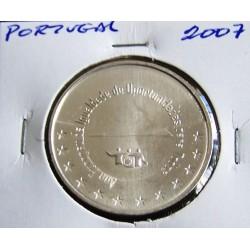 Portugal - 5 Euro - 2007 - Ano Europeu Da Igualdade De Oportunidades Para Todos - Prata