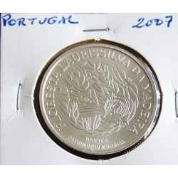 Portugal - 5 Euro - 2007 - Floresta Laurissilva Da Madeira - Prata