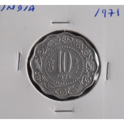 India - 10 Paise - 1971