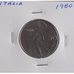 Itália - 50 Lire - 1980