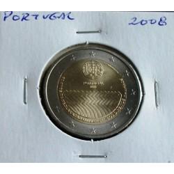 Portugal - 2 Euro - 2008 - 60 Anos Direitos Do Homem