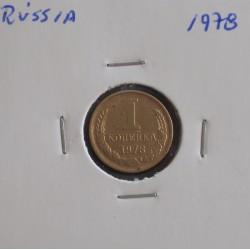 Rússia - 1 Kopek - 1978