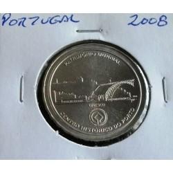 Portugal - 2 1/2 Euro - 2008 - Centro Histórico Do Porto