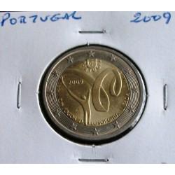 Portugal - 2 Euro - 2009 - Jogos Da Lusofonia