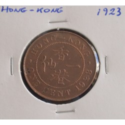 Hong - Kong - 1 Cent - 1923