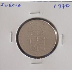 Suécia - 1 Krona - 1970