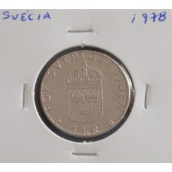 Suécia - 1 Krona - 1978