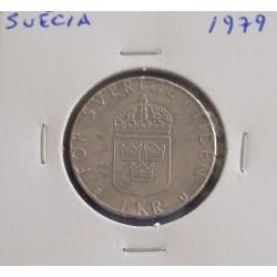 Suécia - 1 Krona - 1979
