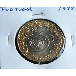 Portugal - 200 Escudos -1995 - 50º Aniversário Da ONU