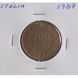 Itália - 200 Lire - 1987