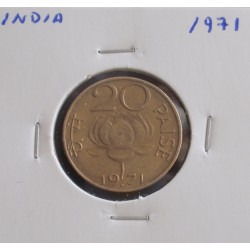 India - 20 Paise - 1971
