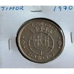Timor - 10 Escudos - 1970 - SOB