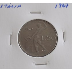 Itália - 50 Lire - 1967