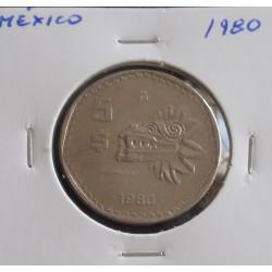 México - 5 Pesos - 1980