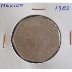 México - 10 Pesos - 1982
