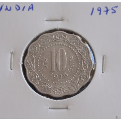 India - 10 Paise - 1975