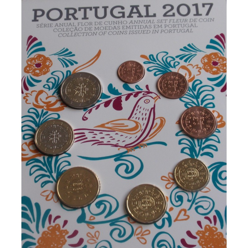Portugal - Série Anual - 2017 - FDC