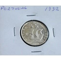 Portugal - 2,50 Escudos - 1932 - Prata - Sob
